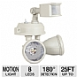 Alternate view 1 for Maxsa 40218 Solar-Powered Dual Head Security Light