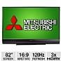 "Alternate view 1 for Mitsubishi 82"" 1080p 120Hz 3D DLP HDTV"