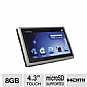 Alternate view 1 for Mach Speed Trio T4300HD 8GB MP4 Player