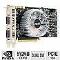 MSI N250GTS-2D512 GeForce GTS 250 Video Card - 512MB, DDR3, PCI-Express 2.0, Dual DVI-I, DirectX, Dual-Slot, SLI Ready, Open Box