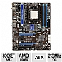 Alternate view 1 for MSI 890FXA-GD65 AMD 890FX Socket AM3 Motherboard