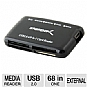 Alternate view 1 for Sabrent 68-in-1 USB 2.0 External Card Reader &amp; Wri
