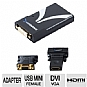 Alternate view 1 for USB to VGA/DVI/HDMI display adapter for PC and Mac