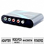 Alternate view 1 for Sabrent Component Video/RCA Audio 2 HDMI Converter