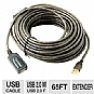Alternate view 1 for Sabrent USB 2.0 Active 65ft Extension Cable 