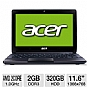 "Alternate view 1 for Acer 11.6"" AMD Dual-Core 320GB Netbook"