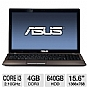 Alternate view 1 for ASUS K53E-BBR7 Refurbished Notebook PC