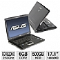 Alternate view 1 for Asus G71GX-RX05 Refurbished Notebook PC 