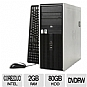 Alternate view 1 for HP Compaq dc7800 Desktop PC (Off-Lease)