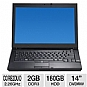 "Dell E6400 Refurbished Notebook PC - Intel Core 2 Duo P8400 2.26GHz, 2GB Memory, 160GB HDD, 14"" Display, DVDRW, Windows 7 Home Premium 32-bit"