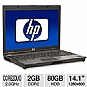"HP Compaq 6910p Refurbished Notebook PC - Intel Core 2 Duo 2.0GHz, 2GB DDR2, 80GB HHD, Combo, 14.1"" Display, Windows 7 Professional 64-Bit (Off-Lease)"
