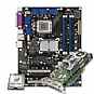 Alternate view 1 for Intel D975XBXLKR w/C2D E6400 & BFG 7950 GX2 PCIe