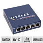 Netgear FS105NA 5 Port 10/100Mbps Network Switch - 5x Ports, 10/100Mbps (FS105NA)