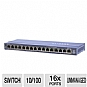 Alternate view 1 for Netgear 16-Port PoE Switch