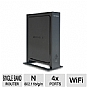 Netgear WNR2000 RB-WNR2000-100NAR Wireless N Router - 300Mbps, 802.11n, 4-Port, Recertified
