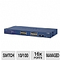 Alternate view 1 for Netgear GS716T ProSafe Ethernet Smart Switch