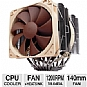 Alternate view 1 for Noctua NH-D14 CPU Cooler