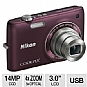 Alternate view 1 for Nikon S4100 Coolpix 14MP Digital Camera