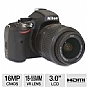 NIKON D5100 16MP Digital SLR Camera