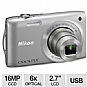 Alternate view 1 for Nikon Coolpix S3300 Digital Camera
