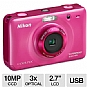Alternate view 1 for Nikon COOLPIX S30 Digital Camera - Pink