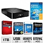 Western Digital Elements SE Portable 1TB HD Bundle