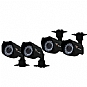 Alternate view 1 for NIGHT OWL Wired Color Security Cameras - 4 Pack