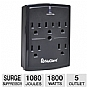 Alternate view 1 for NuGiant 5 Outlet Wall Mount Surge Protector