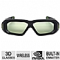 NVIDIA 942-11431-0003-001 3D Vision 2 Wireless Glasses - For Use with any 3D Vision Ready Display with a Built-in Emitter (Refurbished)