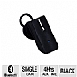 QuikCell Q7BLK Mono Bluetooth Headset - Black
