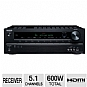 Alternate view 1 for Onkyo TX-SR309 5.1 Channel A/V Receiver
