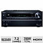 Alternate view 1 for Onkyo TX-NR616 Network A/V Receiver