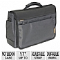 "Alternate view 1 for Microsoft 39001 17"" Inch Impact Messenger Bag"