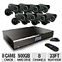 Alternate view 1 for KGuard CA24-C03 All-in-One Security System