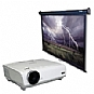 Alternate view 1 for Optoma HD72 DLP Home Theater Projector Bundle