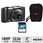 Alternate view 1 for Olympus SZ-20 Full HD Digital Camera  Bundle