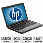 "Alternate view 1 for HP 15.6"" Celeron 320GB HDD Notebook REFURB"