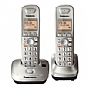 Pansonic KX-TG4012N Cordless Phone with 2 handset -  Dect 6.0 PLUS, Intelligent Eco Mode, 1.9GHz frequency
