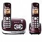 Alternate view 1 for Panasonic KX-TG6572R Digital Cordless Phone