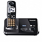 Panasonic KX-TG9321T Dect. 6.0 Cordless Phone - 2 Line, Silent Mode, 1.9 GHz, 3 Way Conference, Black