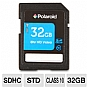 Polaroid High Speed SDHC Memory Card - 32GB, Class 10