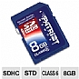 Alternate view 1 for Patriot 8GB SDHC Class 6 Digital Card