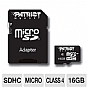 Alternate view 1 for Patriot 16GB Signature MicroSDHC Memory Card