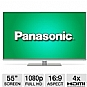"Panasonic TCL55DT50 Smart Viera 55"" Class LED 3D HDTV - 1080p, 1920 x 1080, 16:9, HDMI, USB, PC Input, Wi-Fi, Web Browser (Refurbished)"