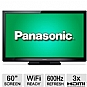 "Alternate view 1 for Panasonic 60"" 1080p 600Hz Sub Field Plasma HDTV"