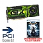 Alternate view 1 for XFX GeForce GTX 275 OC 896MB w/FREE Batman Game