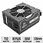 Alternate view 1 for XFX Pro Series XXX Ed ATX Semi-Modular 750W Bundle