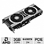 Alternate view 1 for XFX Radeon HD 7950 Black Edition 3GB GDDR5 PCIe 3