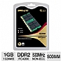 Alternate view 1 for PNY 1024MB DDR2 SODIMM Laptop Memory