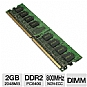 Alternate view 1 for PNY 2048MB PC6400 DDR2 800MHz Memory